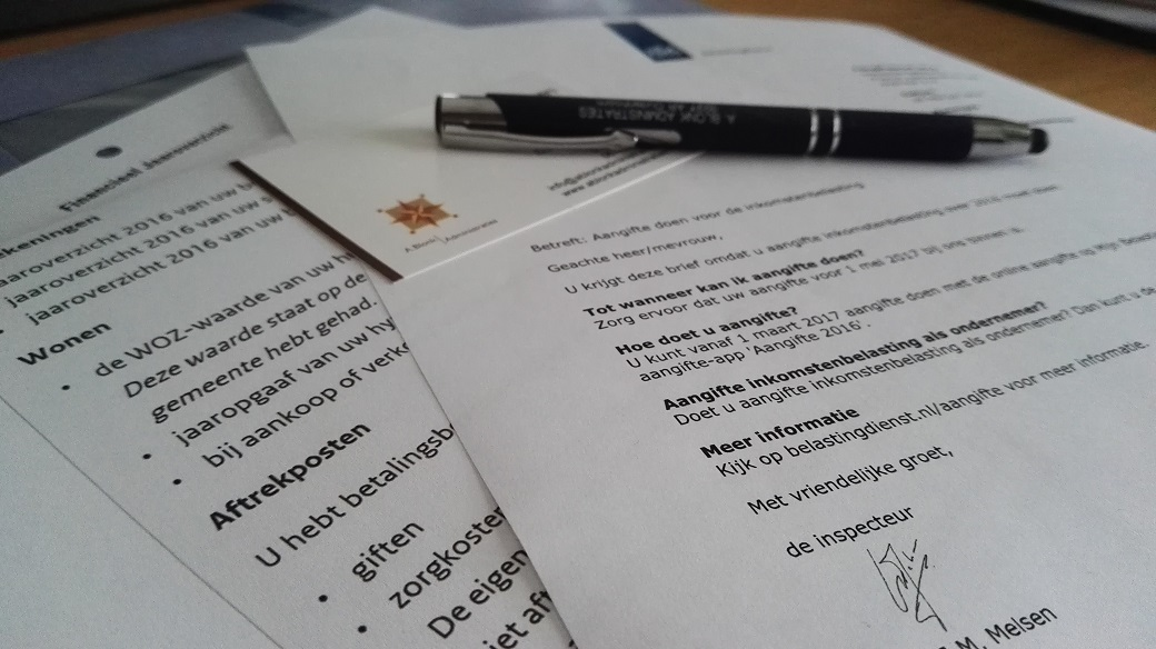Particulieren inkomstenbelasting